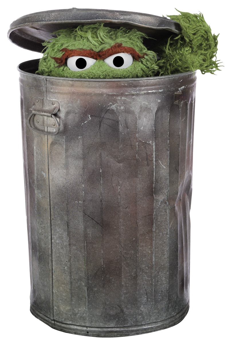 Image result for pic of oscar awards in the trash