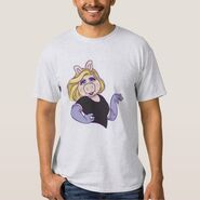 Zazzle piggy standing in style shirt