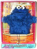 Topper sesame 1971 cookie monster box