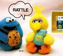 Sesame Street Huggable toys