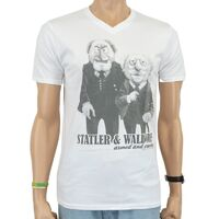 Logoshirt 2011 statler waldorf armed and cranky