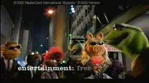 Muppets Master Card Commercial