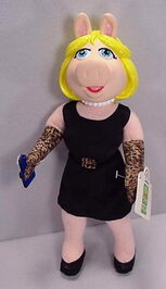 Plush applause piggy doll 1998