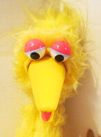 Child guidance 1973 big bird stuffed puppet plush 2