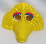Ben cooper halloween 1979 mask big bird