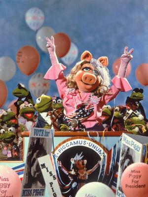 Piggy president