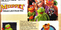 Muppet latch hook kits (Columbia-Minerva)