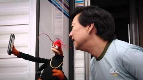 Ken Jeong Takes a Selfie with Pepe