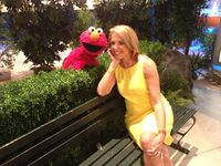 Elmo Katie Couric July 2014