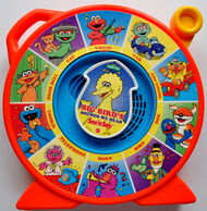 Mattel 1989 see n say big bird sounds we hear