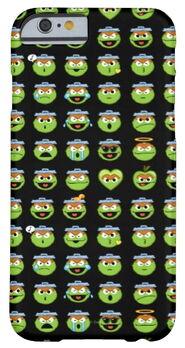 Zazzle oscar the grouch emoji pattern