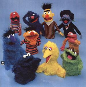 Questor3 puppets