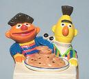 Sesame Street cookie jars (California Originals)