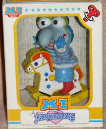 Barval spain 1986 wind-up muppet babies gonzo figure 1