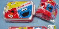Sesame Street lunchware (Sanrio)