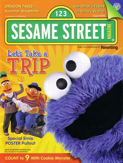 Sesame Street Magazine Feb 2004 Muppet Wiki Fandom - Www