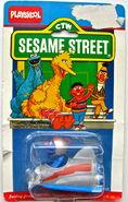 Playskool 1985 die-cast car grover's speedster