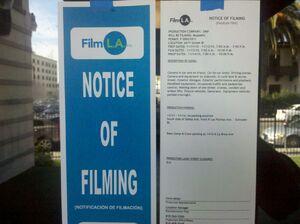 Filming in LA Nov 2010