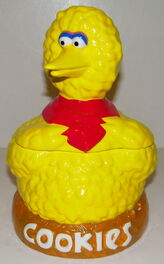 Newcor cookie jar big bird nest 3