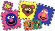 Sesame Street Berk tiles