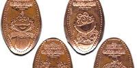 Sesame Street pressed pennies (Busch Gardens)