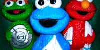 Sesame Street soakies (Minnetonka)