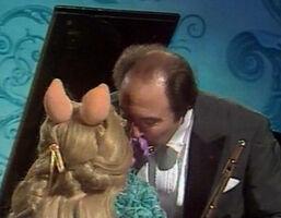 Kiss Jean-Pierre Rampal and Piggy