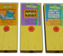 Sesame Street Movie Viewer Cartridges