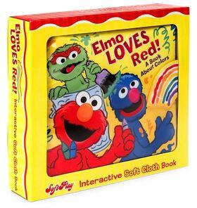 Elmo loves red