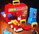 Sesame Street Firehouse playset