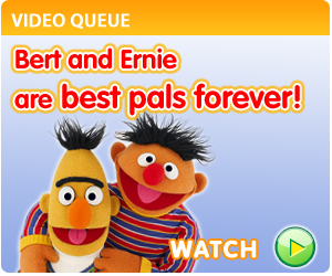 Bert and Ernie -Sesamtreet.org