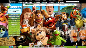 Muppets com 2011 main page