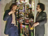 Jim Henson and Gene Shalit