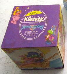 Kleenex 1988 muppet babies tissues