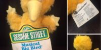 Sesame Street musical plush (Knickerbocker)