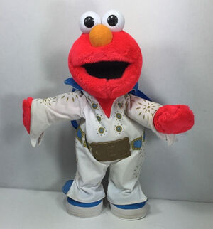 Blue Suede Shoes Elmo