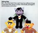 Sesame Street talking plush (Knickerbocker)