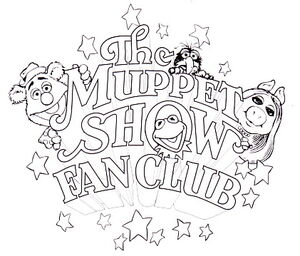 Muppet show fan club logo