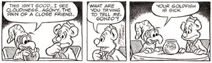 Gilchrist comic strip march 12 1985