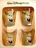 Miss Piggy Shot Glasses