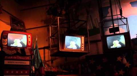 New Muppet Vision 3D Pre-show Segment With Constantine From Muppets Most Wanted