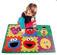 Sesame Street Make-A-Face Foam Floor Puzzle