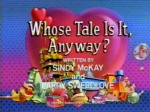 Whose tale is it anyway