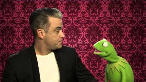 Robbie Williams Valentine's Message to Miss Piggy