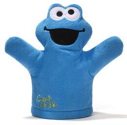 Gund mini puppet cookie monster