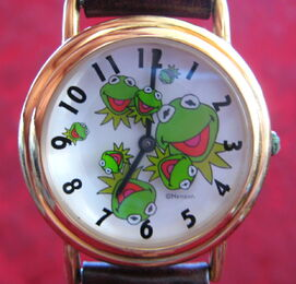 Kermit collection faces watch 1