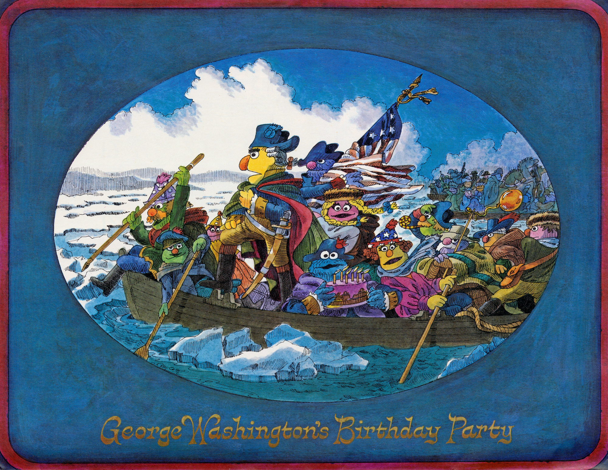 Washington Crossing the Delaware | Muppet Wiki | Fandom powered by ...