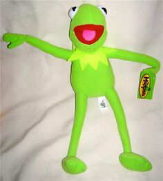 Toy factory 2007 plush kermit