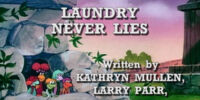 Episode 109: Laundry Never Lies / What Boober's Nose Knows