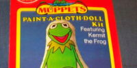 Muppet Paint-a-Cloth Doll Kits